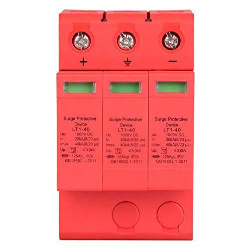 Überspannungsschutz, 3P 3.0KV DC-Überspannungsschutz, Überspannungsschutz, Blitzüberspannungsschutz(3p40ka)