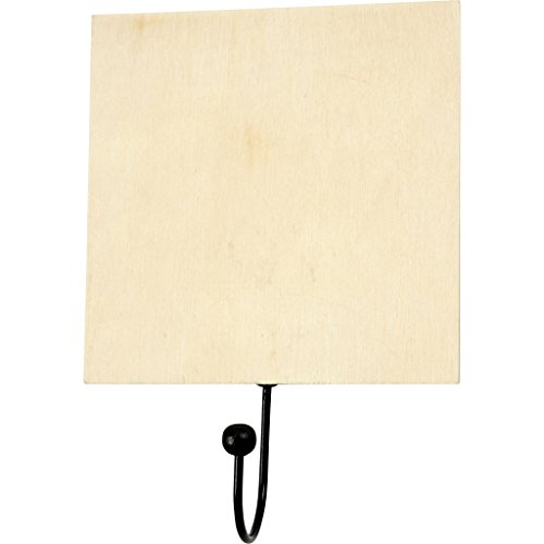 Creativ Company 56728 Wood Clothing Hanger – Clothing Hangers (Wood, Wood, 1 pc (s), 120 mm, 5 mm, 120 mm)