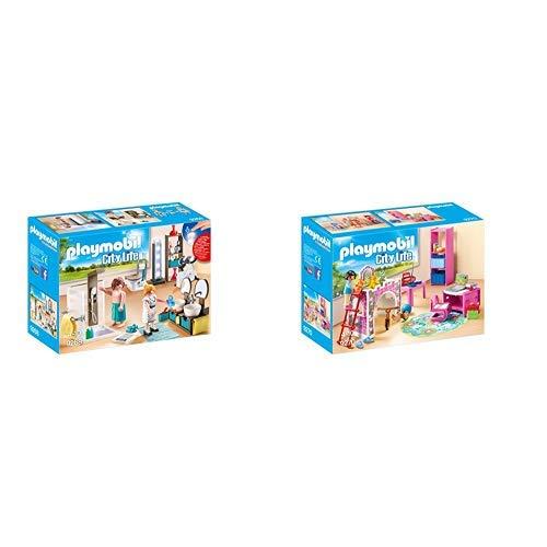 Playmobil 9268 - Badezimmer & 9270 - Fröhliches Kinderzimmer