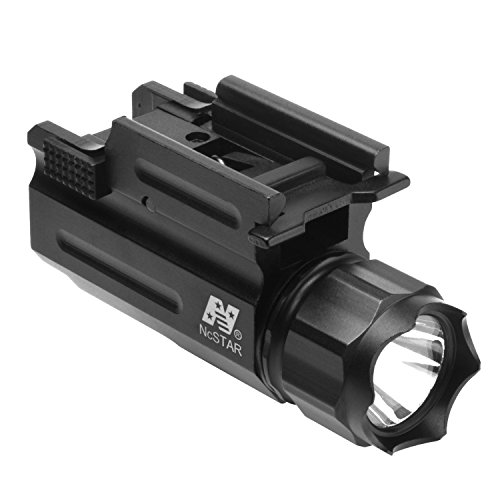 NcSTAR Weaver Mount Tactical LED Light Flashlight, Black