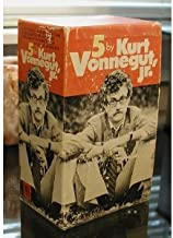 5 by Kurt Vonnegut jr. (5 volumes) (Cat's Cradle, The Sirens of Titan, God Bless You, Mr. Rosewater, Welcome To The Monkey House, Slaughterhouse Five)