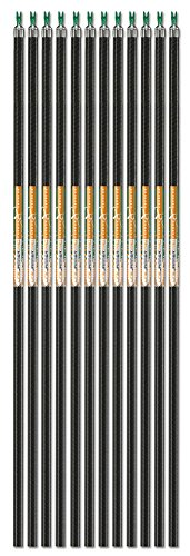 Carbon Express LineJammer Pro, Diamond Weave Carbon Arrow Shaft (Designed for ASA and IBO), 12-Pack
