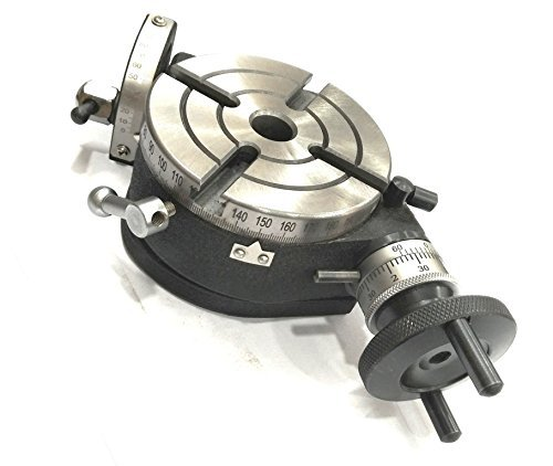 """Brand New 4"""" Inch/ 100 mm Tilting Rotary Table with MT2 Bore-Milling, Lathe,Engineering Tools"""
