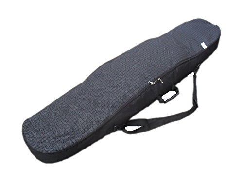 Witan SNOWBOARDTASCHE Board Bag Snowboard Tasche 155/165 cm Snowboardbag Boardsack Rucksack mit Tragegriff Sack (7 - Stahl, 165)