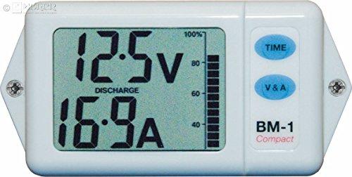 Nasa - Batteriemonitor BM-1 COMPACT - weiß