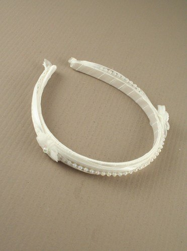 Baby christening hair band