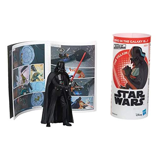 Hasbro Star Wars Galaxy of Adventures Personaggio Darth Vader Action Figure E5649