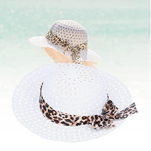 Sombrero de viaje, sombrero para el sol tipo cubo Fácil de llevar Moda con lazo para niños para viajes de verano(A)