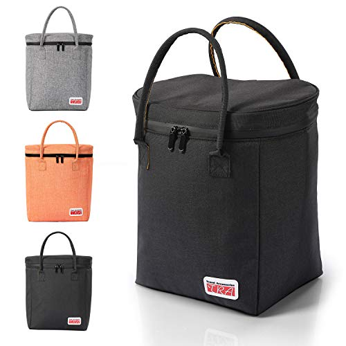 Insulated Cooler Bag/PicnicTote/Car Cooler/Reusable Insulated Collapsible Grocery Bag; Waterproof Material & Zip, Leakproof & Eco Friendly Liner, 12.5''H/11.0''L/7.1''W