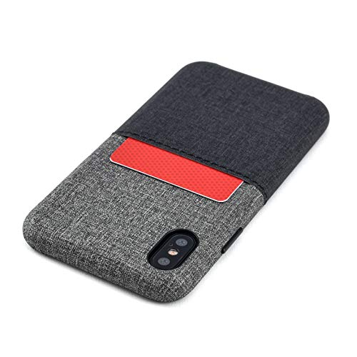 Dockem Luxe M1 Funda Cartera iPhone XS iPhone X: Funda