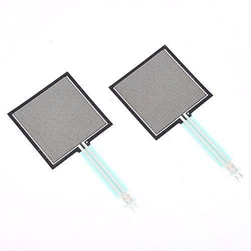 Belissy 2ST Flexible Folien-Drucksensor Kraft Sensitive Resistor 20g-10kg RP-S40-LT