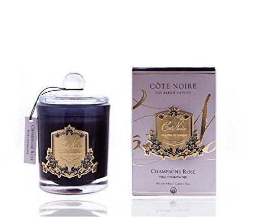 Cote Noire Roze Champagne Kaars 450g