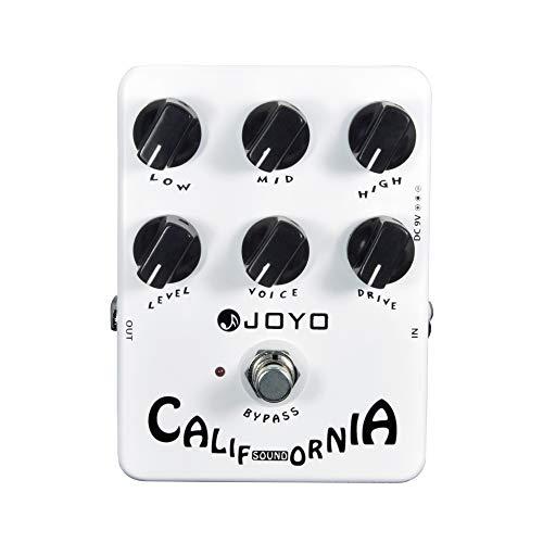 JOYO JF-15 California Sound Guitar Effect Pedal Amp Simulator - Bypass, DC 9V and...