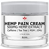 Hemp Cream for Pain Relief - 500MG Lotion for Arthritis & Inflammation - Relieves Muscle & Joint...