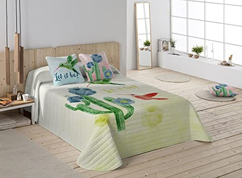 Colcha Let It Be Icehome (cama de 180)