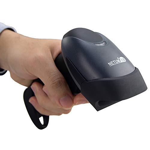 NETUM Lecteur Code à Barres Barcode Scanner à Laser Douchette Optique de Haute Vitesse avec USB Filaire à Longue Portée Indicateur Buzzer Portable POS Laser pour Win 7 8 Mac Os X 10.8.4 NT-M1
