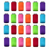 Can Cooler Sleeves Blank Poly Foam (24, Multi Color)