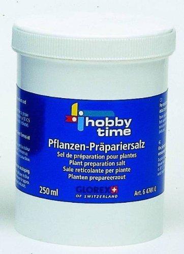Glorex Pflanzen-Präpariersalz 250 ml, Verschiedenes, Mehrfarbig, 4 x 8 x 12 cm