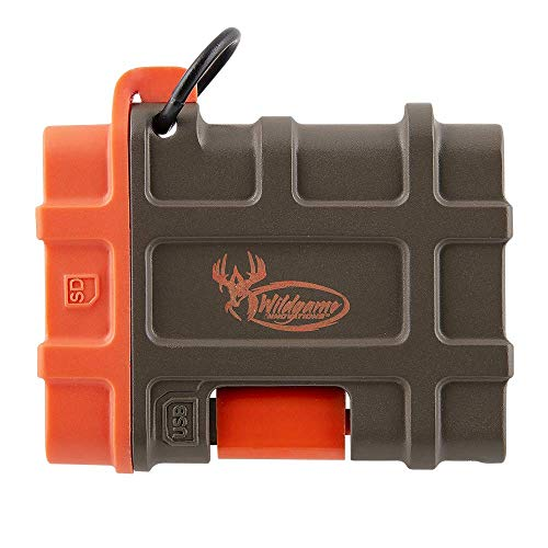 Wildgame Innovations Appview-9, Apple Sd Card Reader, One Size, Beige and Orange