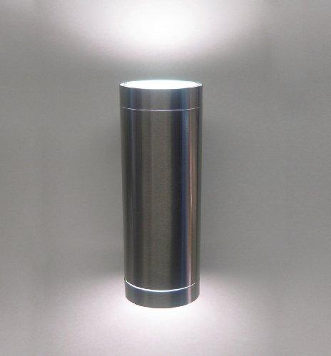 Applique pour salle de bain ou extérieur, IP54 GU10 Allume des deux côtés. Compatible avec ampoules en LED GU10 ou fluorescente compacte GU10.