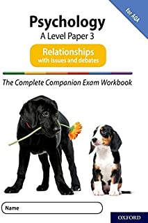 The Complete Companions for AQA Fourth Edition: 16-18: The Complete Companions: A Level Psychology: Paper 3 Exam Workbook ...