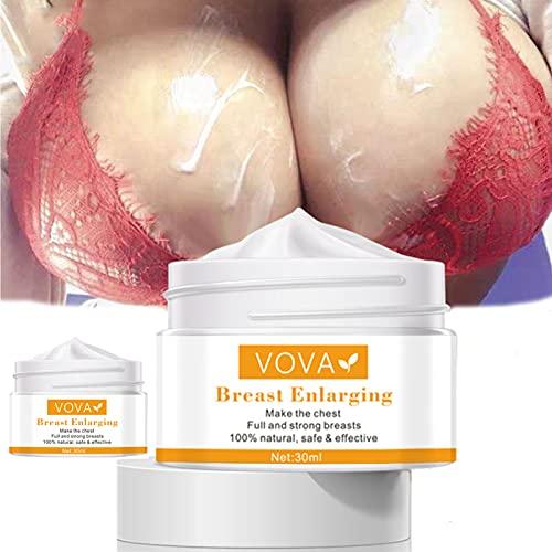 Natural Breast Enhancement Essential Oil, Firming Breast Enlargement Cream Must Up Breast Cream Massage Breast Firming Tightening Big Boobs Bigger Bust for Women (2 PCS)