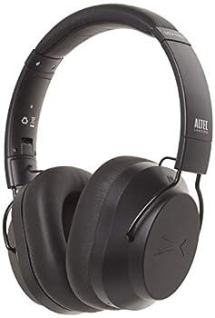 Altec Lansing Whisper Active Noise Cancelling Headphones Black  MZX1003-BLK