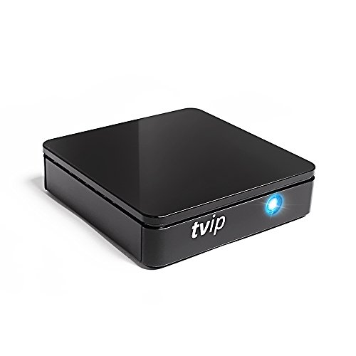 TVIP S-Box v.415 IPTV HEVC HD Android 4.4 Linux Multimedia Stalker Interner IP TV Streamer 512MB RAM + 4GB Flash, MicroSD Card, EXT.IR, 2,4/5GHz WiFi