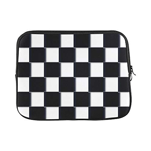 Design Custom Checkerboard Design Pattern 313344 Sleeve Soft Laptop Case Bag Pouch Skin for MacBook Air 11'(2 Sides)