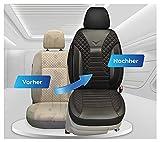 Fundas de asiento compatibles con Mercedes Vito Viano W639, conductor y pasajero, número de color: PS803