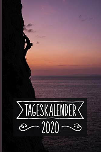 Tageskalender 2020: Klettern Terminkalender ca DIN A5 weiß über 370 Seiten I Jahreskalender I Terminplaner I Tagesplaner