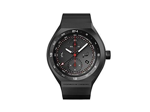 Porsche Design Monobloc ACTUATOR 24h Chrono Automatik Uhr, Titan, Schwarz