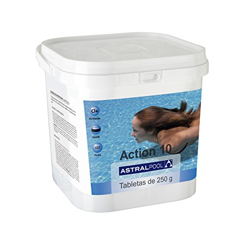Astralpool Action-10 Desinfectante Con Cloro Multiac. 5 Kg