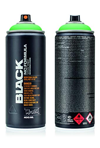 Montana Cans Montana BLACK 400ml Color, Revolt Green Spray Paint
