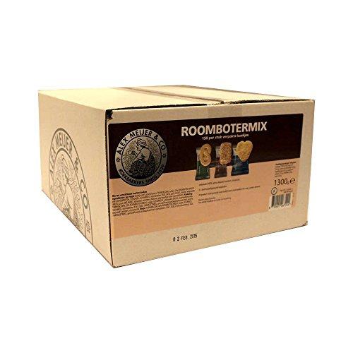 Alex Meijer Kaffee-Kekse Koekjesmix Roomboter 150 Stck.