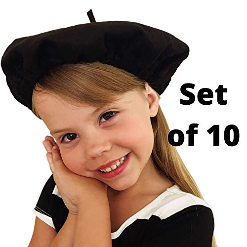 Picki Nicki Beret Party Hats, Bulk Lot of 10