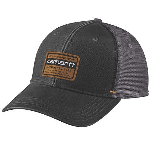 Carhartt Silvermine Cap Gorra de béisbol, Black, OFA Unisex-Adulto