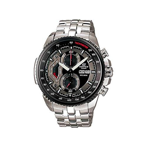 Casio Men's EF558D-1AV Silver Stainless-Steel Quartz Watch...