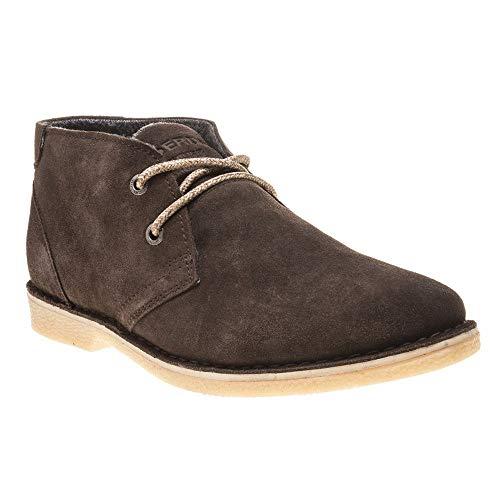 Superdry Herren RALLIE Boot Klassische Stiefel, Braun (Light Brown/Natural W2t), 44 EU
