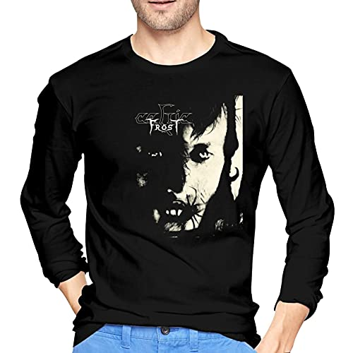 Celtic Frost Monotheist Tshirt Men Cotton Long Sleeve T Shirt Fashion Tee Tops Black