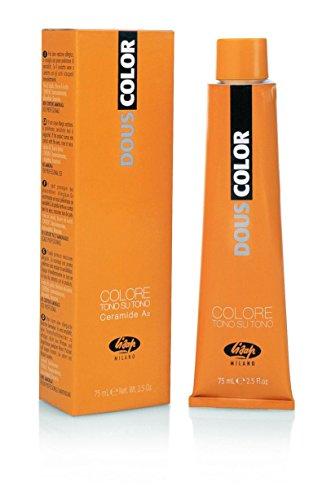 Douscolor professionele zonder ammoniak 6-63 koper verguld haarkleur kleurrijk, meerkleurig