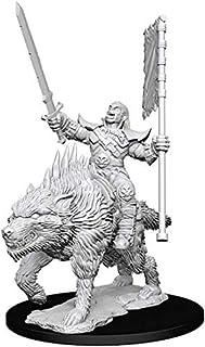 Pathfinder Battles Deep Cuts Unpainted Miniatures: Wave 7: Orc on Dire Wolf