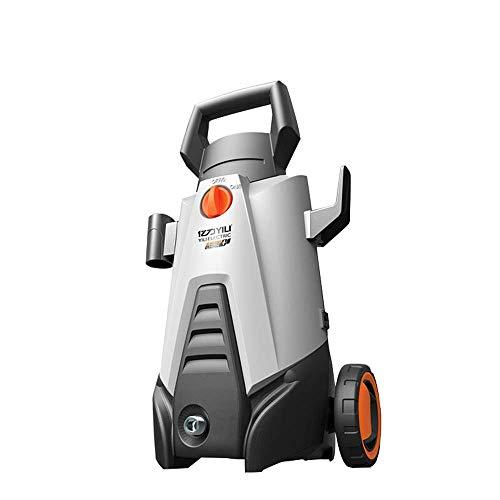 L@LILI Électrique Haute Pression Voiture Machine à Laver 500PSI avec Auto-amorçage Baril Batterie au Lithium sans Fil Rechargeable Haute Pression Machine de Nettoyage