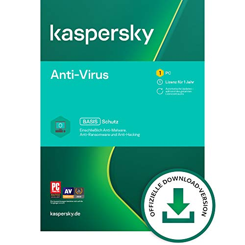 Kaspersky Anti-Virus 2021 Standard | 1 Gerät | 1 Jahr | Windows...