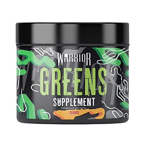 Warrior Complete Super Greens Powder Supplement, Orange, 30 Servings