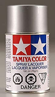 Tamiya America, Inc Polycarbonate PS-12 Silver, Spray 100 ml, TAM86012