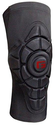 G-Form Pro Slide Knieschoner (Herren/Damen) für Mountainbike, Skateboard, Inliner, Volleyball, Fahrrad, BMX, E Bike, mit hohem Schlagschutz und verbesserter Flexibilität - Schwarz - Größe M