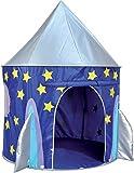Tenda Casetta da Gioco per Bambini Tipo Razzo Spaziale Apertura a Scatto Spirit of Air