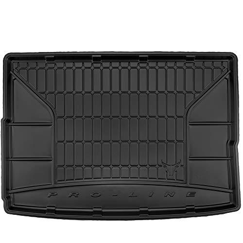 DBS 1766571 Tapis Auto-sur Mesure-Bac de Coffre pour Voiture-Rebords Surélevés-Caoutchouc Haute qualité-Antidérapant-Simple d'entretien-1766571
