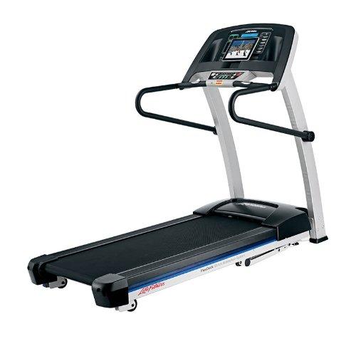 Life Fitness Laufband F1 Smart - Cinta de Correr para Fitness (Plegable, pulsómetro de Banda Pectoral, 2,5 PS, 136 kg), Color Negro, Talla única